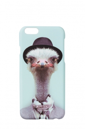 Iphone hoesje 6/6S Ostrich | print