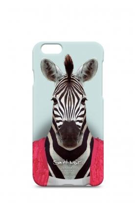 Saint Noir | Iphone hoesje 6/6S Zebra | print
