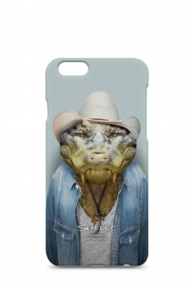 Iphone case 6/6S Crocodile | print