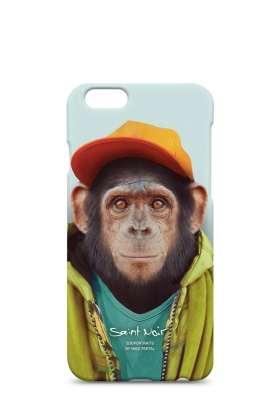 Saint Noir | Iphone hoesje 6/6S Chimpanzee | print