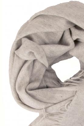 Becksöndergaard | Wollen sjaal Crystal | grijs