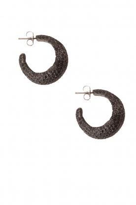 Earrings Sally | black