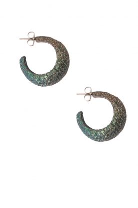 KMO Paris |  Earrings Sally | green
