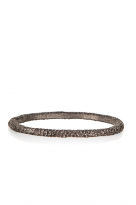 KMO Paris |  Bracelet Oval | black