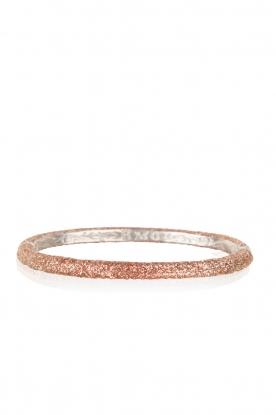KMO Paris | Armband Oval | roze