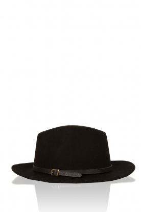 Becksöndergaard | Wollen hoed Hancock | zwart
