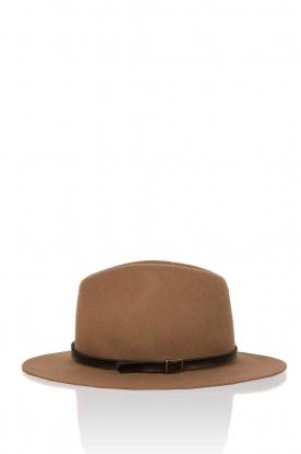 Wollen hoed Hancock | camel