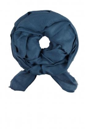 BVL | Sjaal Gauze XL | blauw