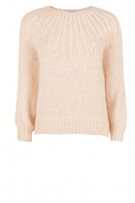 Mes Demoiselles |  Knitted sweater Lueur | light pink