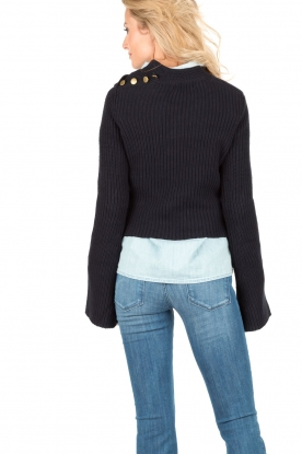 Hunkydory | Trui Gilcrest Knit | donkerblauw