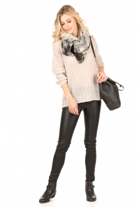Knitted sweater Simla | natural