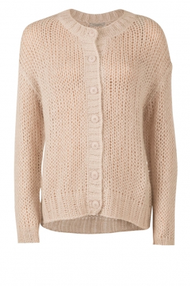 Knitted cardigan Simla | natural