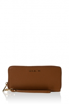MICHAEL Michael Kors |  Leather wallet Mercer | brown