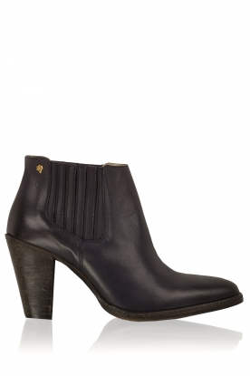 Maluo |  Leather ankle boots Sauvage | blue