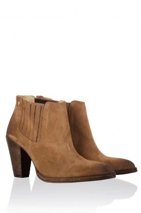 Suede ankle boots Sigaro | camel