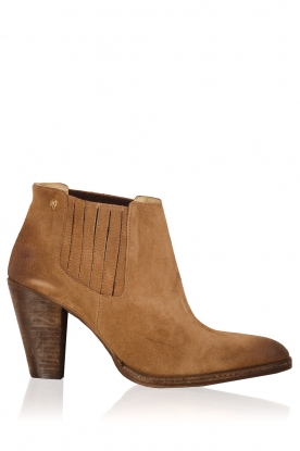 Maluo |  Suede ankle boots Sigaro | camel