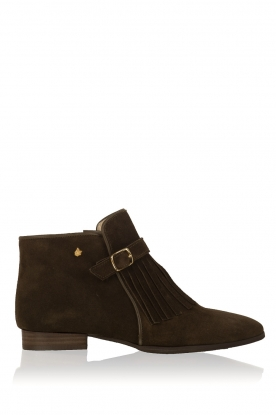 Maluo |  Suede ankle boots Sage | khaki