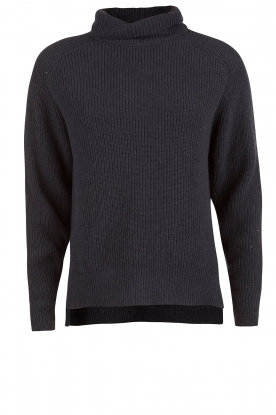 Turtleneck sweater Mara | dark blue