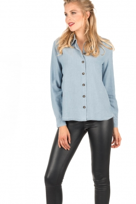 Blouse Lily | blauw