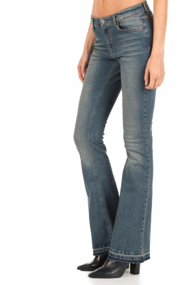 Set | 5-pocket flared jeans Lorna lengtemaat 32 | blauw