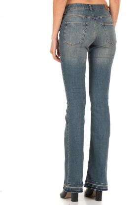 5-pocket flared jeans Lorna lengtemaat 32 | blauw