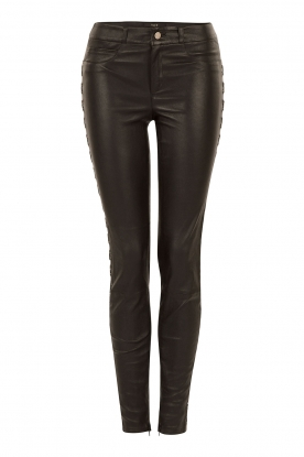 Leather pants Celine | black
