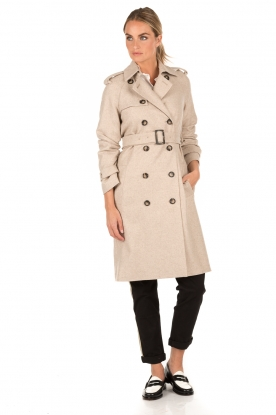 Set | Trenchcoat Mena | stone
