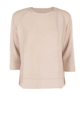Hemisphere |  Cashmere sweater Stella | light pink