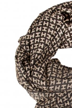 Hemisphere | Kasjmieren sjaal Ombre | print