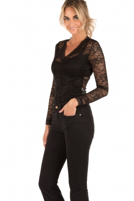 Lace body Romeo | black