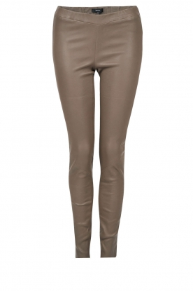 Lamsleren stretchlegging Roche | taupe