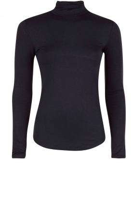 Rosemunde | Turtleneck top Blondie | blauw