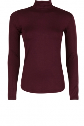 Turtleneck top Blondie | paars