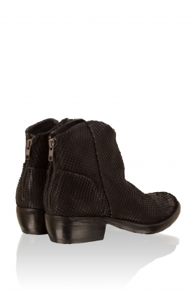 Leather ankle boots Roger Python | black