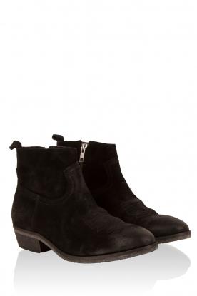 Suede ankle boots Olsen Vesuvio | black