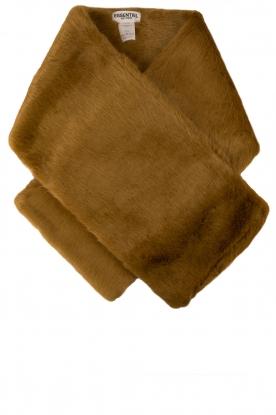 Faux fur sjaal Mangococo | kaki