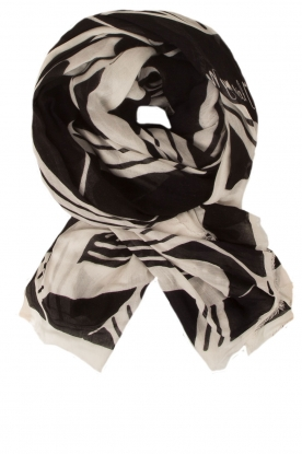 Scarf Helene | black & white