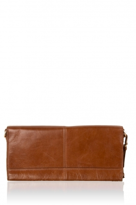 Leather clutch Nia | brown