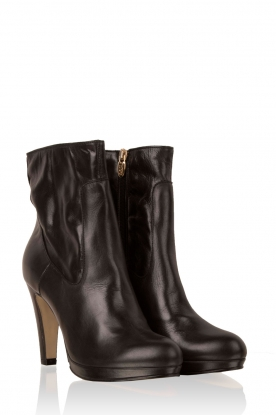 Leren boots Nabla | zwart