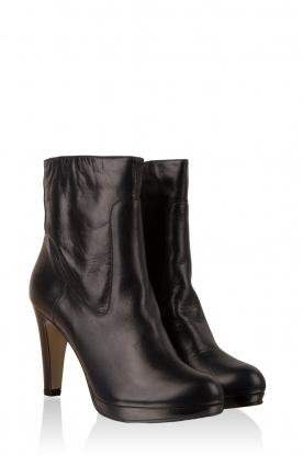 Leather boots Nabla | dark blue