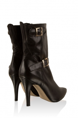 Leather boots Nicole | black