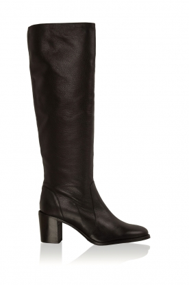 Noe |  Leather boots Noty | black