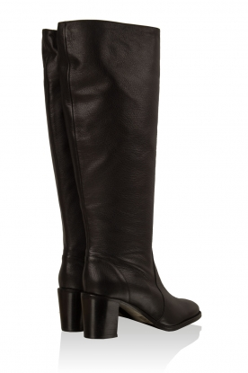 Leather boots Noty | black