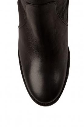 Noe | Leren laarzen Noty | zwart