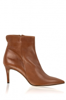 Noe |  Leather ankle boots Noty | brown