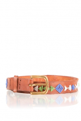 Aspiga |  Leather belt Dalia | multi