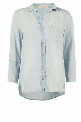 Bella Dahl |  Denim blouse Mel | blue