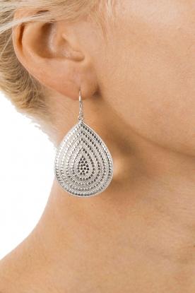 925 sterling zilveren oorbellen sun catcher | zilver
