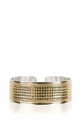 Close to Zen | 22kt vergulden armband Wild Heart | goud