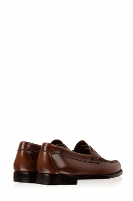 G.H. Bass & Co. | Leren loafers Weejun Penny | bruin